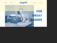 Fitzgerald website overview