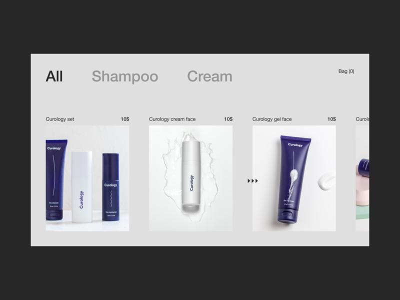 E-commerce product page ecommerce page ui  ux minimal ui ux ui  ux design design