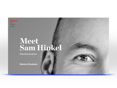 Seneca Content Exploration editorial typogaphy brand design branding