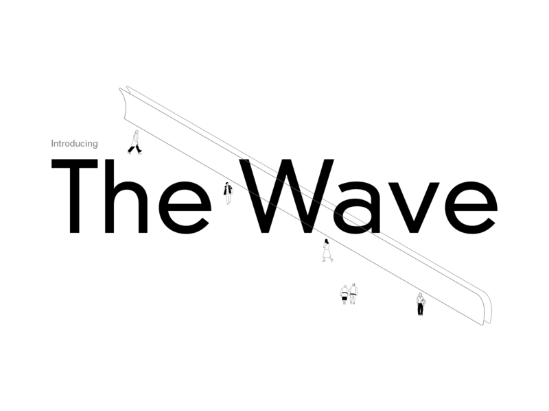 Minimalism concept typography illustration branding design
