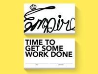 Empire card concept