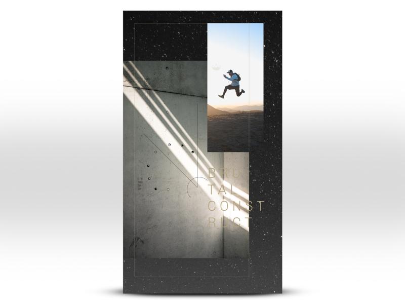 Adidas Alt Space Concept typgraphy environmental illustration design branding