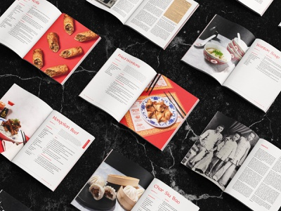 Chinese Cookbook Spreads books san luis obispo editorial layout spread mockup marble food asian editorial book cookbook restaurant chinese