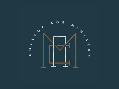 College Ministry Logo church branding logo