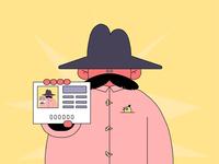 Moustache Man Recursion