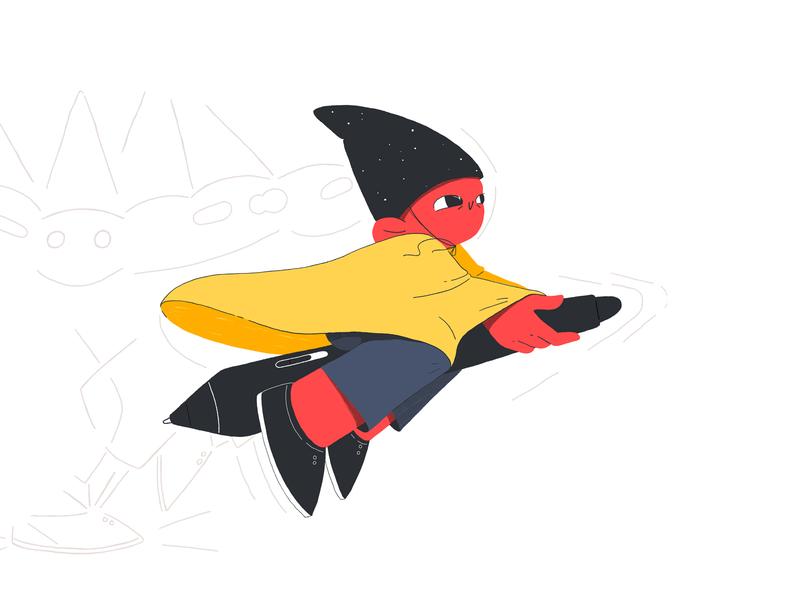 Gnome III motion design motion graphics animation digital art character character design design illustration