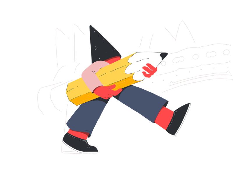 Gnome I motion design motion graphics animation digital art character character design design illustration