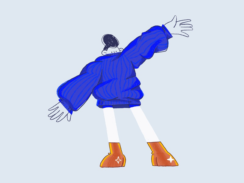 Sweater Weather sweater weather girl sweater autumn art digital character character design design illustration