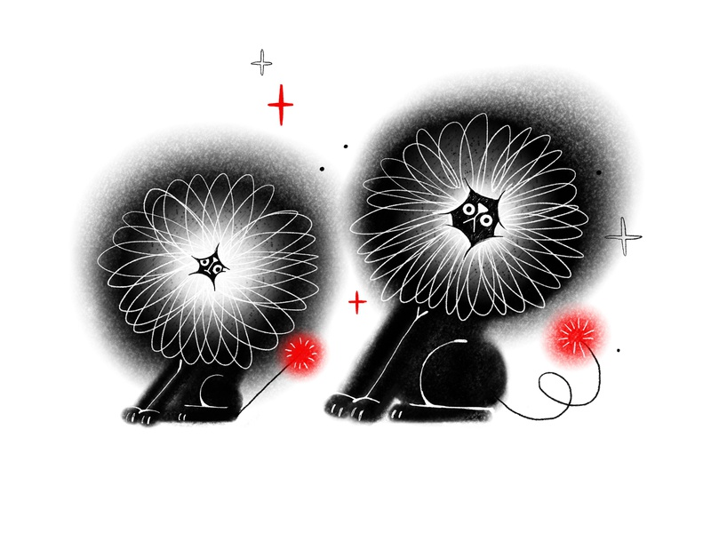 Brothers doodle procreate app procreate art digital character design illustration