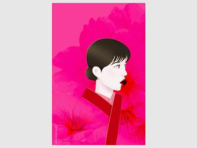 self-portrait 2⃣️ ui girl character design illustration