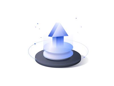 arrow data increase arrow icon design ui