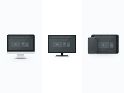 devices download illustration icon device