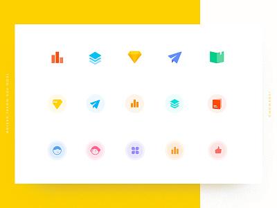 Icons for novel design ui like gender boy novel book plain diamond sort ranking icon