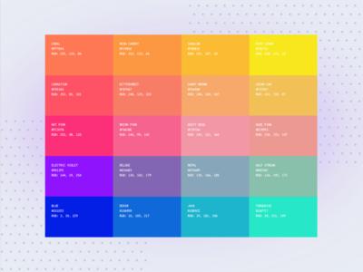 Swipe Life Color Palette