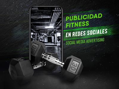 GYM Advertising | Social Media fitness center fitness designer advertise advertising socialmedia branding design
