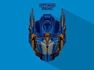 Optimus Prime | Vector Illustration branding logo illustration design illustration design illustration art illustrations illustrator optimus prime optimus primefaces vector illustration vectorart vector art vectors vector