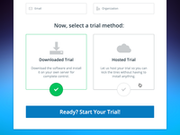 HelpSpot Trial Modal