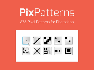 Pix Patterns pixel pattern patterns set creative market psd pat texture download