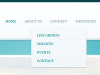 Church Site Dropdown Menu Take 2