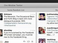 One Window Twitter