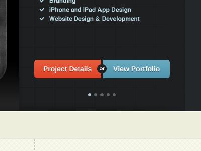 Fixel Buttons fixel button buttons orange blue slider portfolio details texture shading highlight