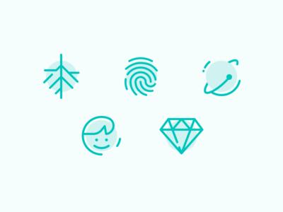 Church on the Way Icons logo navigation icon line art minimal church illustration iconography line green icons