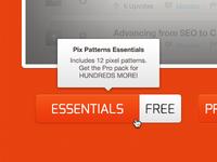 Pix Patterns Landing Page