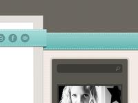 Kesha's New Blog - Sidebar