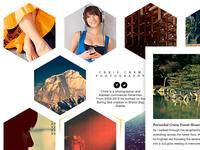 Hiveway — Tumblr theme WIP