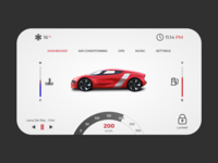 Daily UI - Car interface