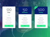 Daily UI - Pricing