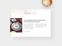 🗝  Blog Page Design