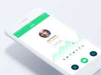 TimeFly - Profile screen