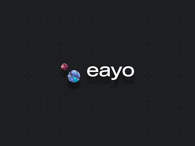 eayo shadow ui grey grid logo corporate identity branding