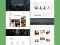 Sparq - Single Page WP Theme