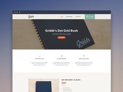 Griddr - Dot Grid Book