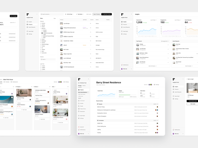 More Programa to-do webapp management filters categories insight projects schedule boards interior dashboard graphs stats app ux ui