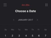 Choose a date