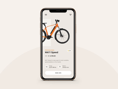 Cycle Store UI Animation
