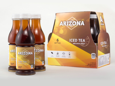 Arizona Iced Tea Redesign arizona iced tea packaging