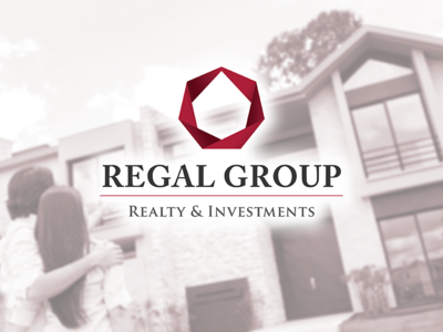 Regal Group real estate realty branding identity logo