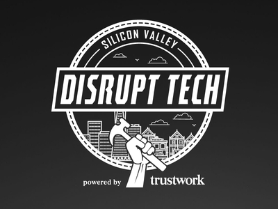 Disrupt Tech silicon valley disrupt tech seal stamp logo trustwork