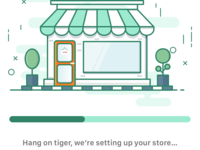 New Store Onboarding Illustration for DEAR POS