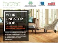 Magazine Ad for Taozen Flooring