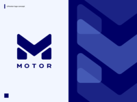 mottor logo concept 3 logotype logo design logotypes logos logo letter m concept logo futuristic brand design branding brand identity brand lpmotor mottor