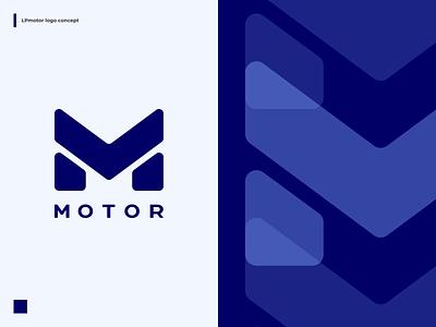 LPmotor logo concept logotype logo design logotypes logos logo letter m concept logo futuristic brand design branding brand identity brand lpmotor mottor