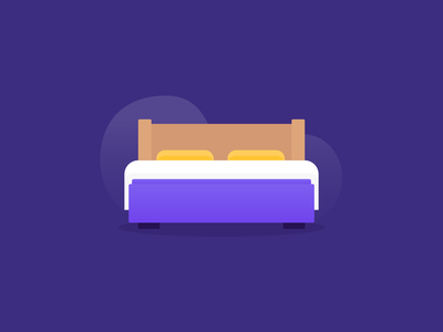 Bed Illustration
