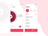 Music App Redesign.