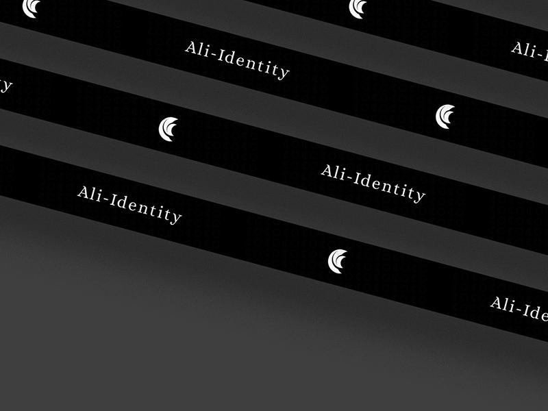 Ali Identity moon brand and identity korea identity graphic icon identity branding ali branding brand logo design