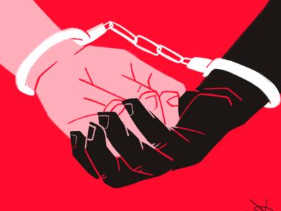 #blacklivesmatter racism procreate illustration